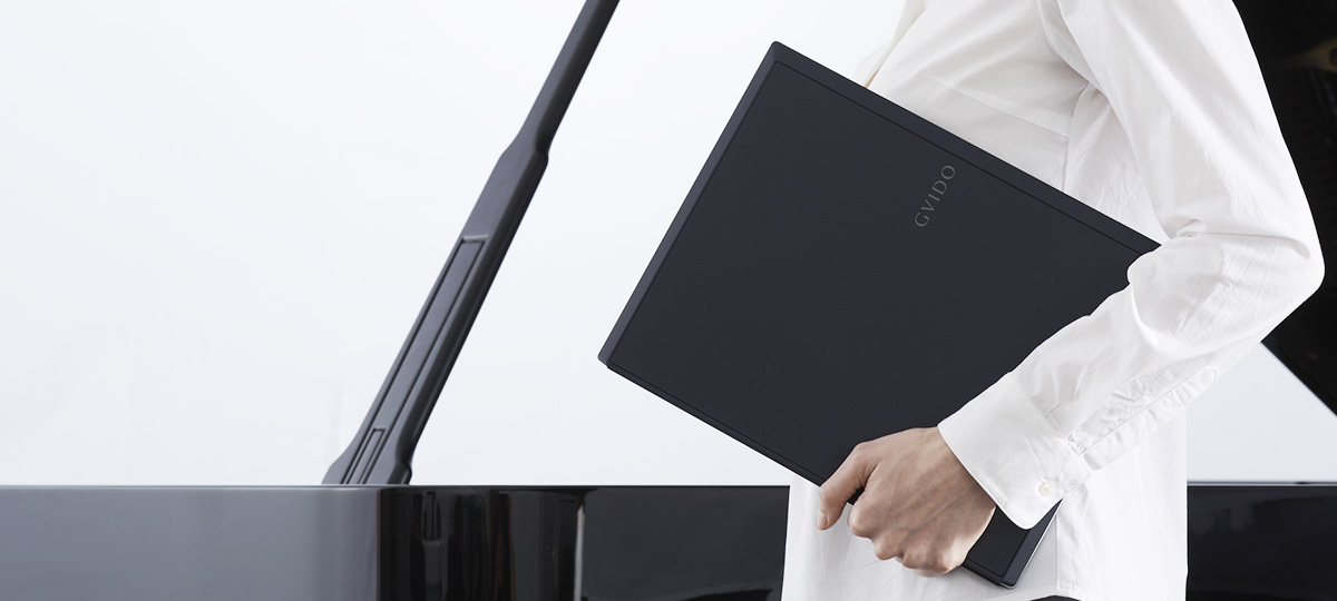 We've revolutionized the music scene by digitizing scores for musicians.